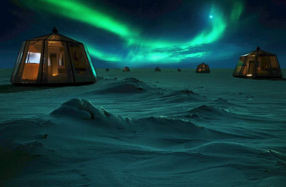 North Pole Igloos : romance et aventure au point le plus extrême du globe