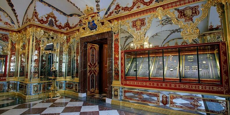Deux pièces du trésor de Dresde en vente sur le dark net