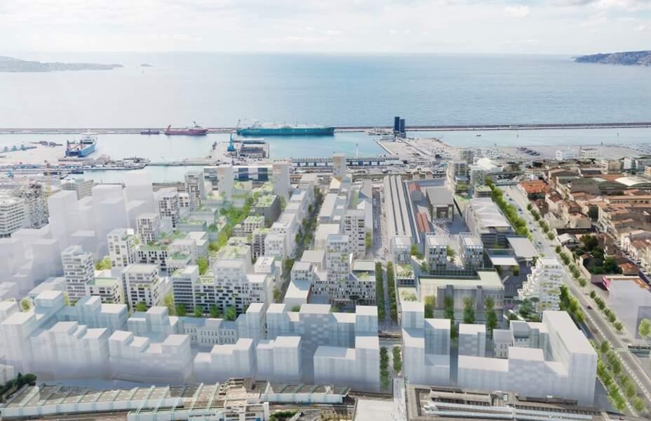 Marseille : Nouveau métro et écoquartier