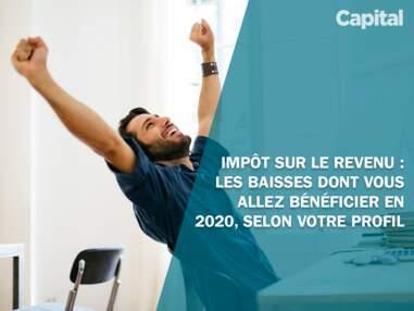Impôt sur le revenu : les baisses dont vous allez bénéficier en 2020, selon votre profil
