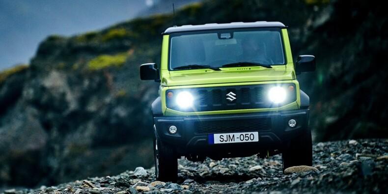 Le Suzuki Jimny quitte l'Europe, victime d'émissions de CO2 trop importantes