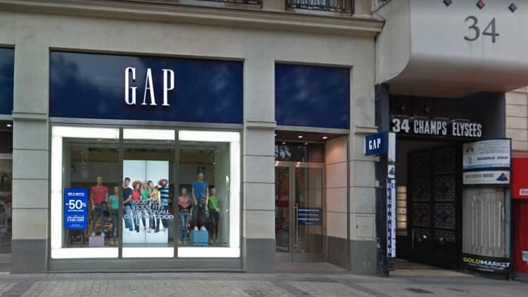 Crise chez Gap : la chaîne ferme son magasin des Champs-Élysées ce samedi