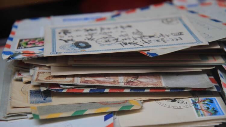 24.000 lettres retrouvées chez un ancien facteur japonais
