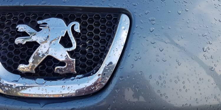 Les actions PSA Peugeot-Citroën et Renault chutent, plombées par l'effondrement de l'auto