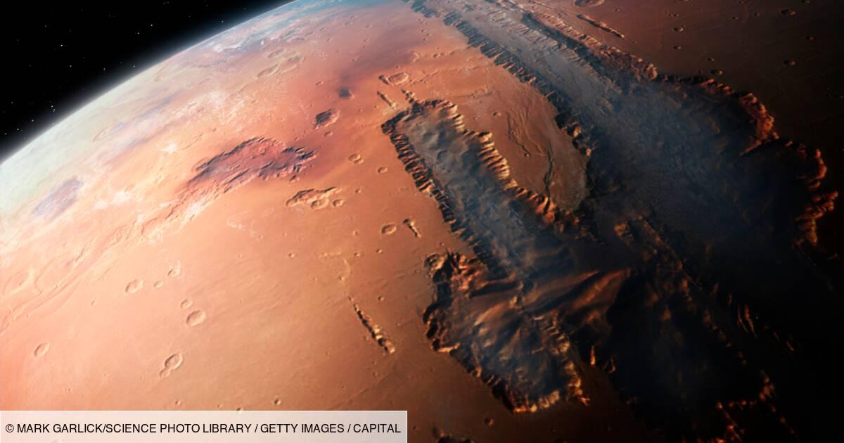 Sur Mars, l'étonnante révélation de l'atterrisseur InSight de la Nasa