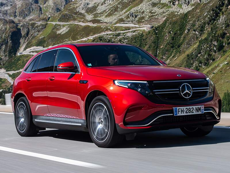 Mercedes EQC : le must en matière d'équipements
