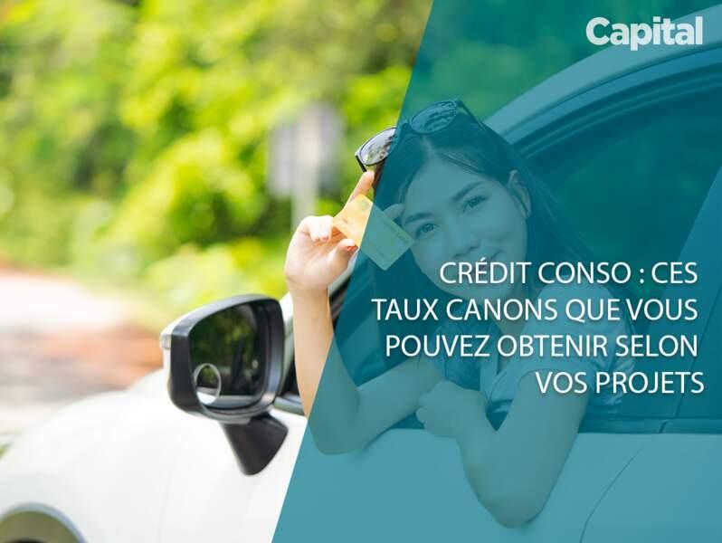 Crédit conso est devenu une aubaine. Des taux canons au travers de 5 exemples de projets.