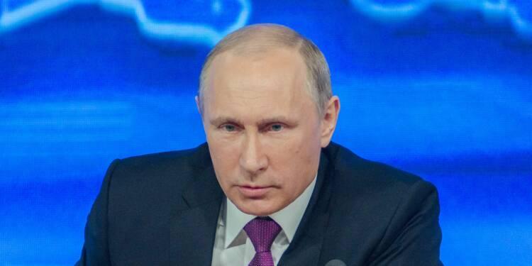 """Le pétrole plonge, Vladimir Poutine se dit armé pour gagner la """"guerre"""""""