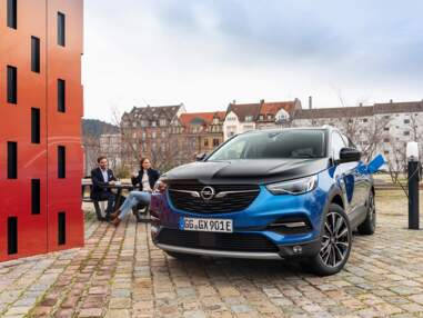 L'Opel Grandland X Hybrid4 à l'essai