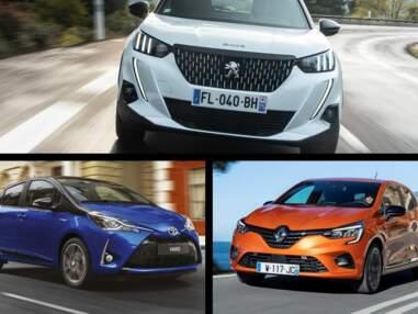 Le top 10 des voitures les plus vendues en janvier 2020