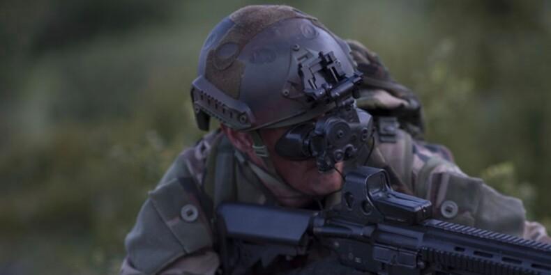 Découvrez les nouvelles jumelles de vision nocturne des soldats français