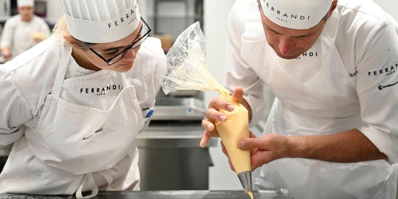 Formation, reconversion... l'école de gastronomie Ferrandi s'ouvre