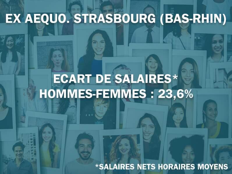 7 ex aequo. Strasbourg