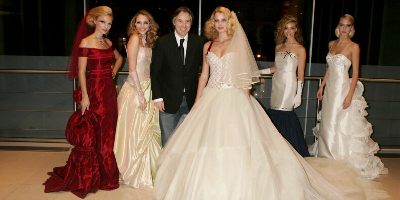 Rideau pour Pronuptia, le spécialiste de la robe de mariée