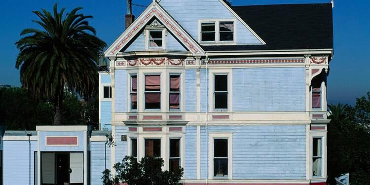 """Offrez-vous la """"maison bleue"""" de Maxime Le Forestier à San Francisco"""