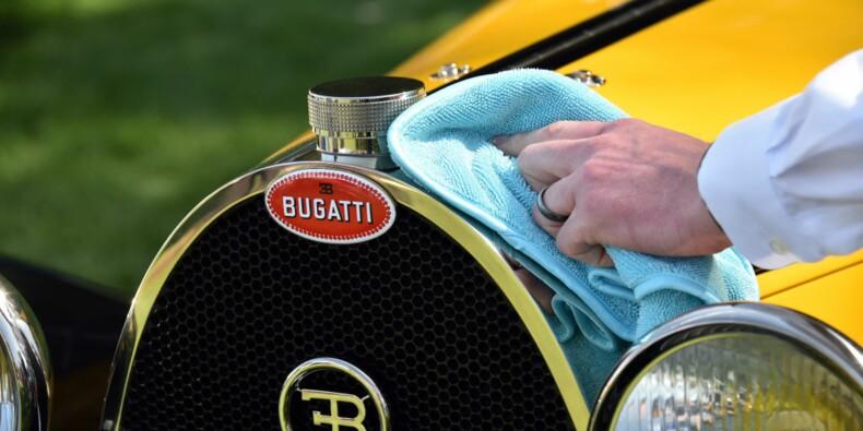 Une Bugatti vendue aux enchères à Paris pour un montant record