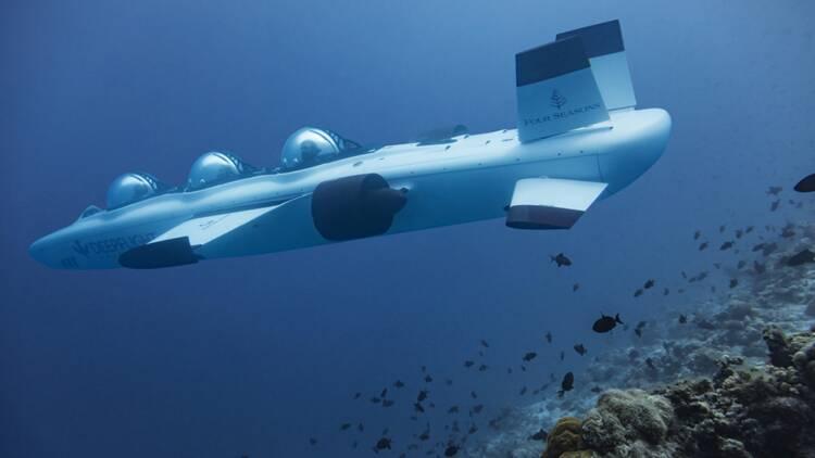 Sous-marin privé, oeuvres d'art... les folies des palaces pour séduire les ultrariches