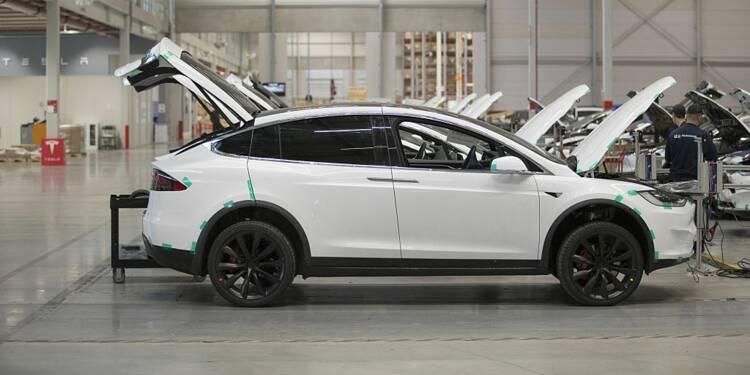 Tesla : des milliers de Model X font l'objet d'un rappel