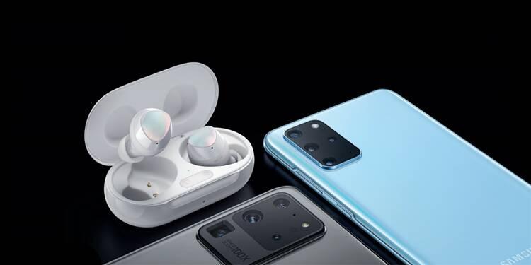 Samsung Galaxy S20+ et S20 Ultra : les Galaxy Buds offerts pour toute précommande