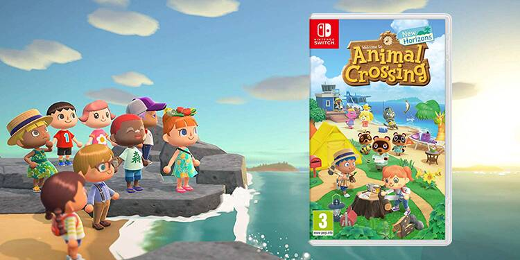 Nintendo Switch : le jeu Animal Crossing New Horizons en promotion