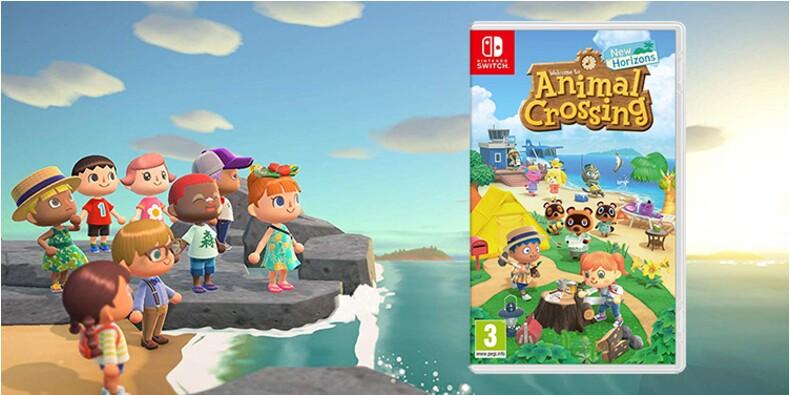 Animal Crossing : New Horizons en promotion pour sa sortie sur Nintendo Switch