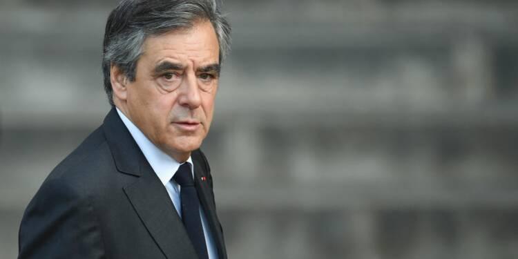 Cinq ans de prison dont deux ferme requis contre François Fillon