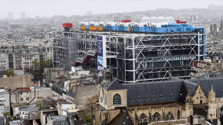 Le Centre Pompidou pourrait fermer durant trois ans