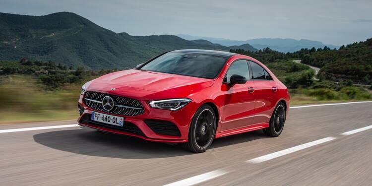 Essai de la Mercedes CLA, la voiture la plus sûre aux crash-tests en 2019