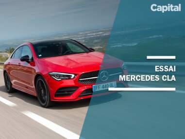 Essai Mercedes CLA, la voiture la plus sûre aux crash-tests en 2019