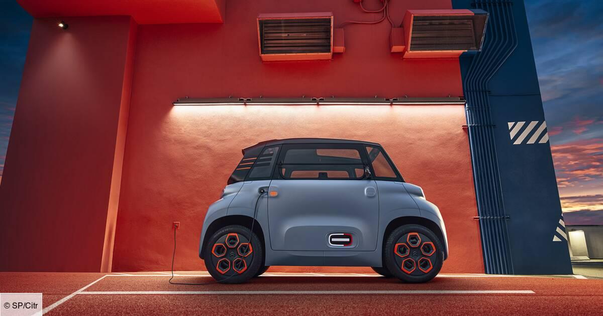 Citroën Ami : un quadricycle électrique, sans permis et vendu à la Fnac