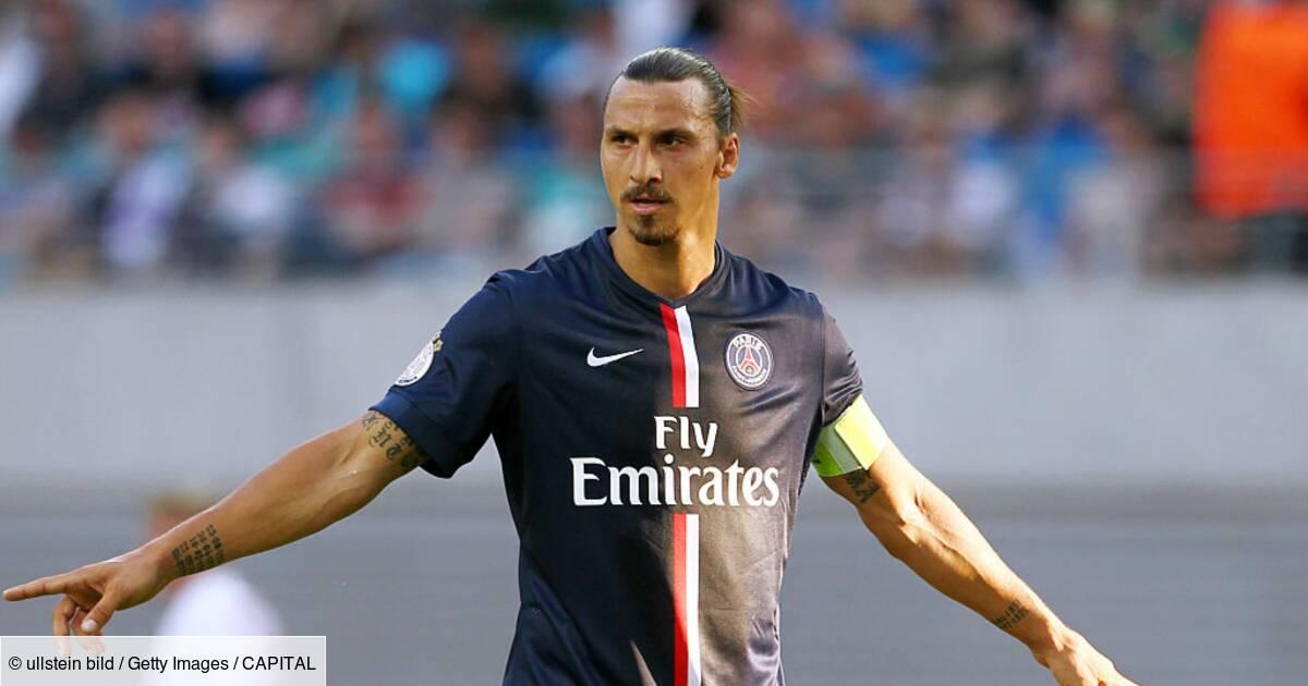 Les crampons de Zlatan Ibrahimovic mis aux enchères à Saint-Brieuc