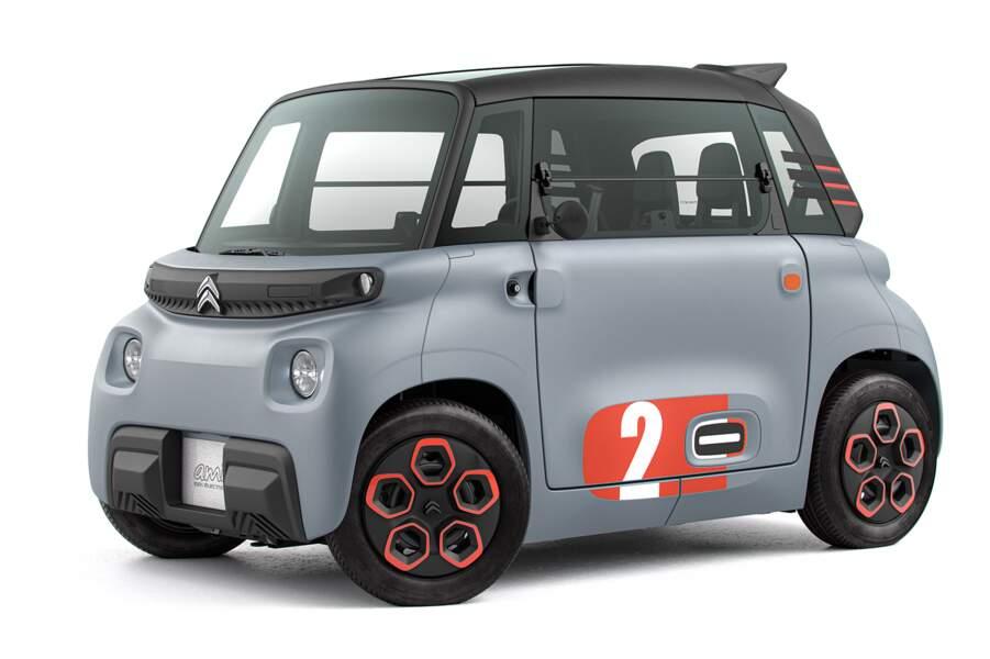 Fiche technique Citroën Ami
