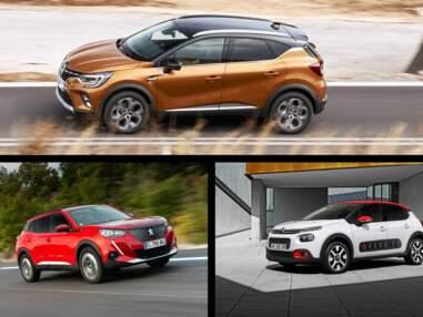 Les 10 voitures les plus vendues en France en février 2020