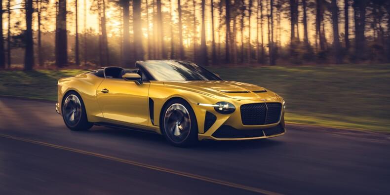 Bentley dévoile un nouveau cabriolet et il vaut une fortune