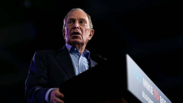 Primaire démocrate : Mike Bloomberg abandonne pour soutenir Joe Biden