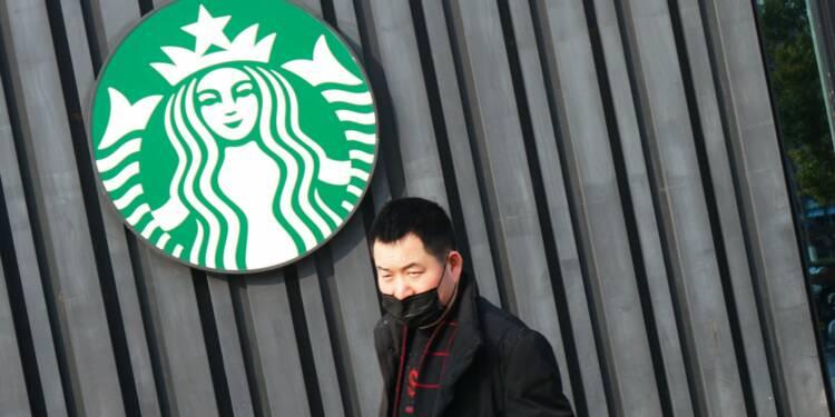 Le géant du café Starbucks s'attend à un effondrement de ses ventes en Chine