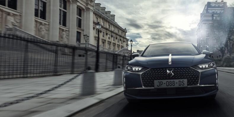 La DS9 a tout pour devenir la nouvelle voiture présidentielle d'Emmanuel Macron !