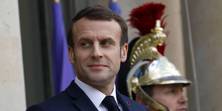 """Coronavirus : """"nous sommes au tout début de cette épidémie"""" en France, selon Emmanuel Macron"""