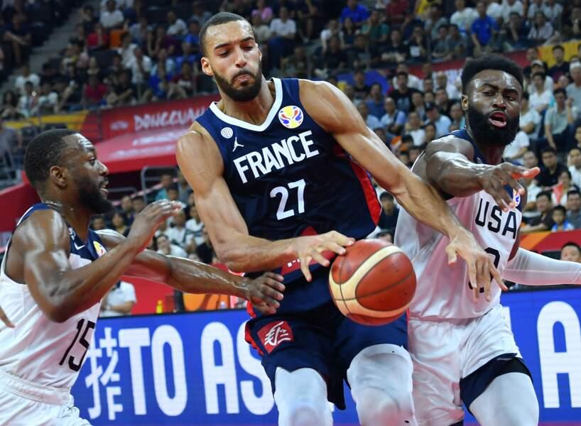 Le basketteur français Rudy Gobert