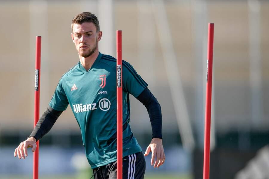 Le joueur de la Juventus, Daniele Rugani