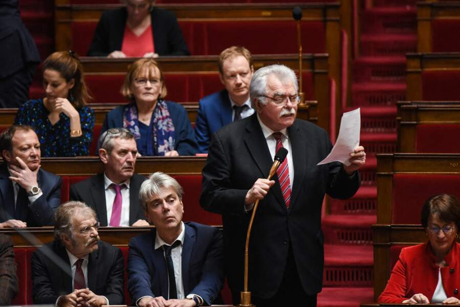 Sept députés de l'Assemblée nationale