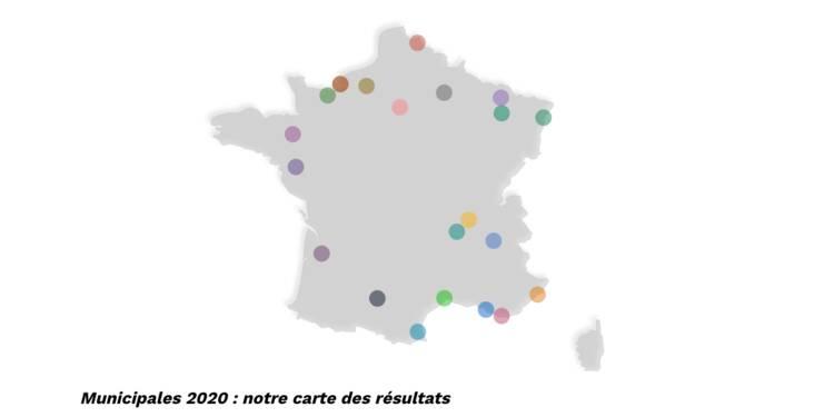 carte des élections départementales 2020 Elections municipales 2020 : notre carte de France des résultats