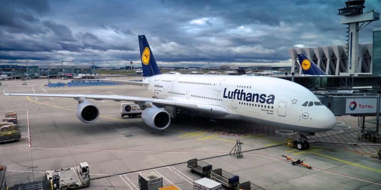 Lufthansa veut mettre le quart de ses salariés en chômage partiel