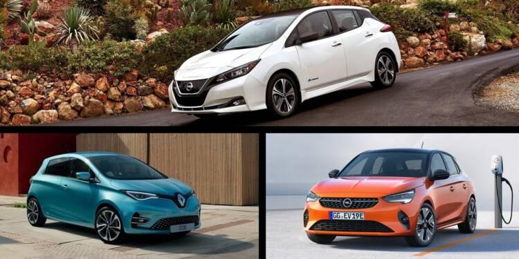Les 10 voitures électriques les plus vendues en France en 2020