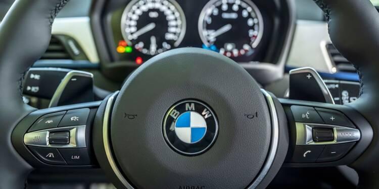 BMW ferme la plupart de ses usines et s'attend à une année difficile