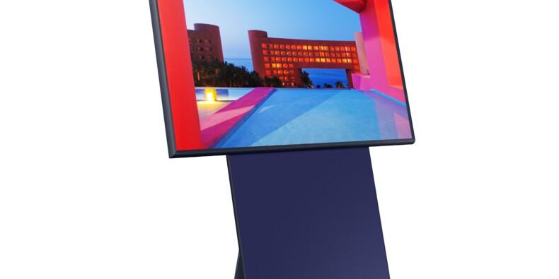 Le téléviseur pivotable de Samsung va-t-il plaire ?