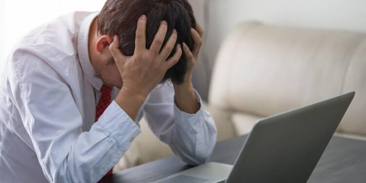 """Bourse : """"l'indice de la peur"""" sur les actions s'envole à son pic de la crise de 2008 !"""