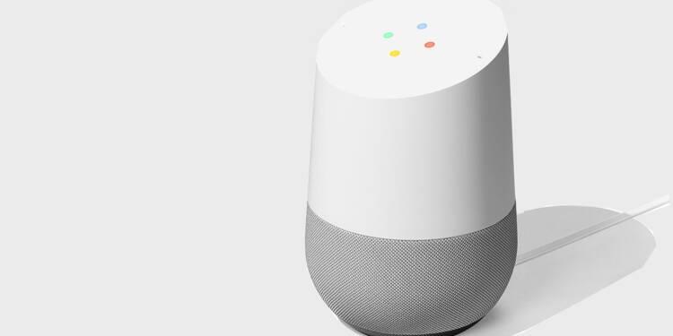 Dans la tête de l'enceinte connectée Google Home
