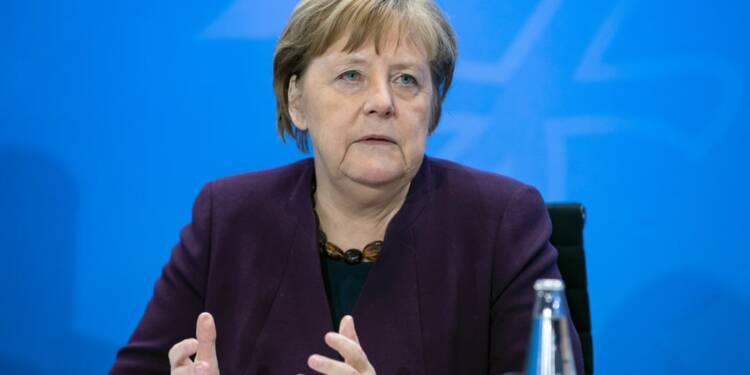 Après un contact avec une personne contaminée, Angela Merkel se place en quarantaine