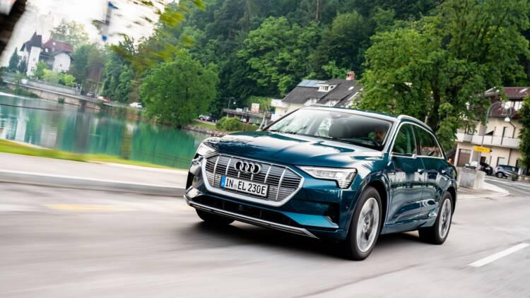 Essai de l'Audi e-tron, un SUV électrique très haut de gamme